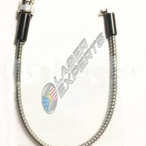 Precitec Cable Straight BNC-90° MCX 300mm Armored Cable