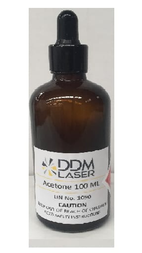 Bystronic Acetone 100ml with dropper