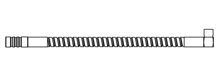 "Trumpf Sensor Cable 190 mm (7.5"") Armored"