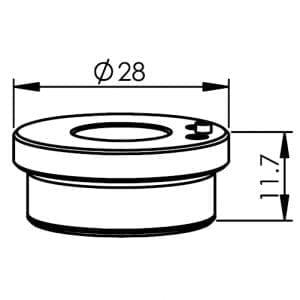 """Precitec Nozzle Holder Kit B2"""" Con"""